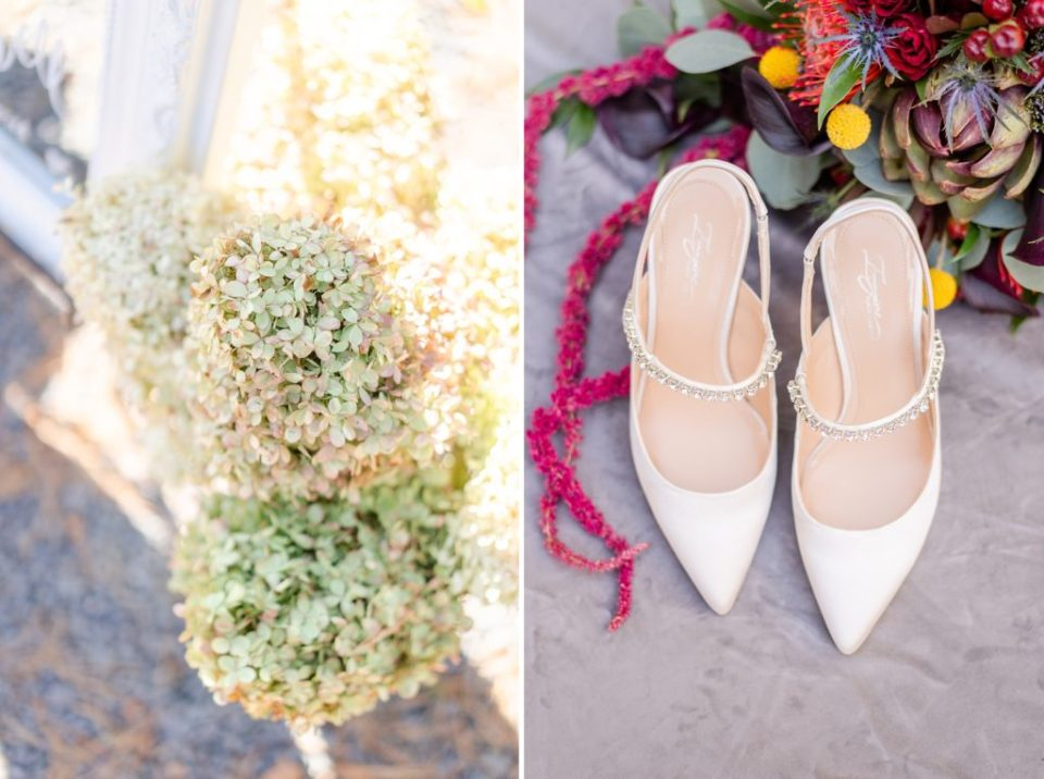 bride's details photographed by Renee Nicolo Photography for PA wedding