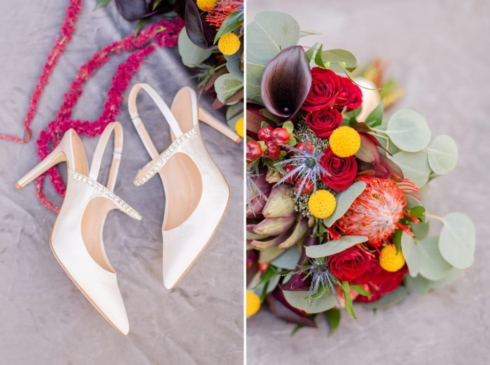 fall wedding florals photographed by Renee Nicolo Photography