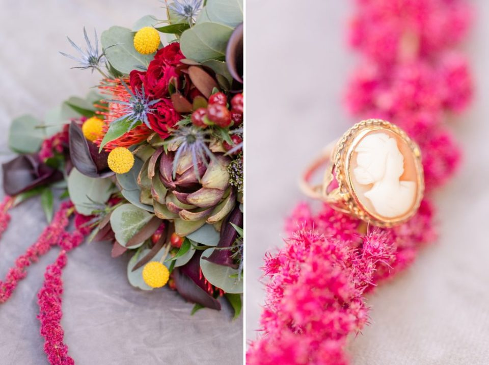 bride's details photographed by Renee Nicolo Photography