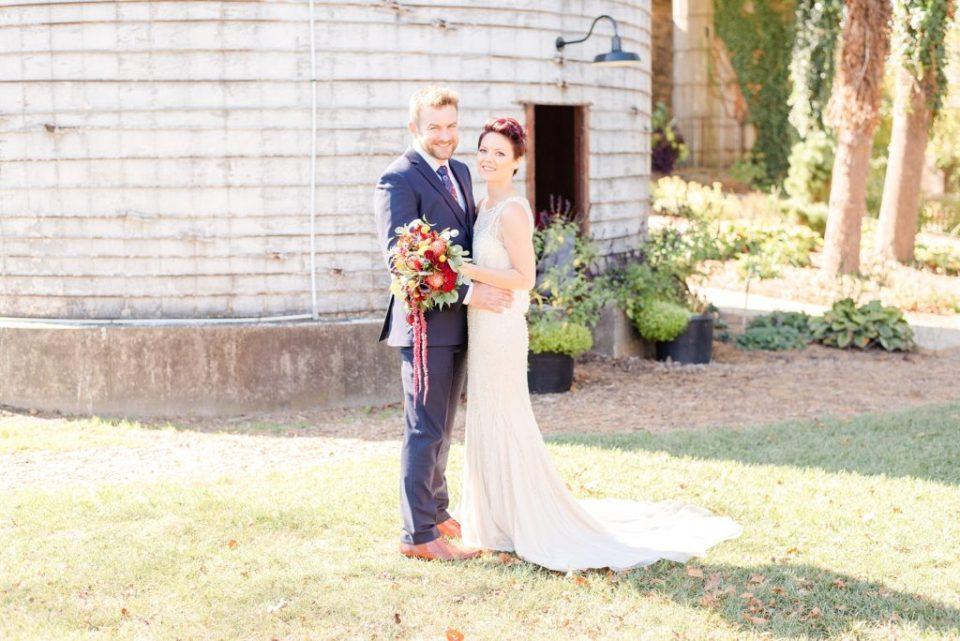 farm wedding portraits in PA with Renee Nicolo Photography