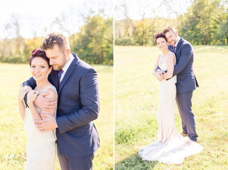 romantic wedding portraits by Renee Nicolo Photography