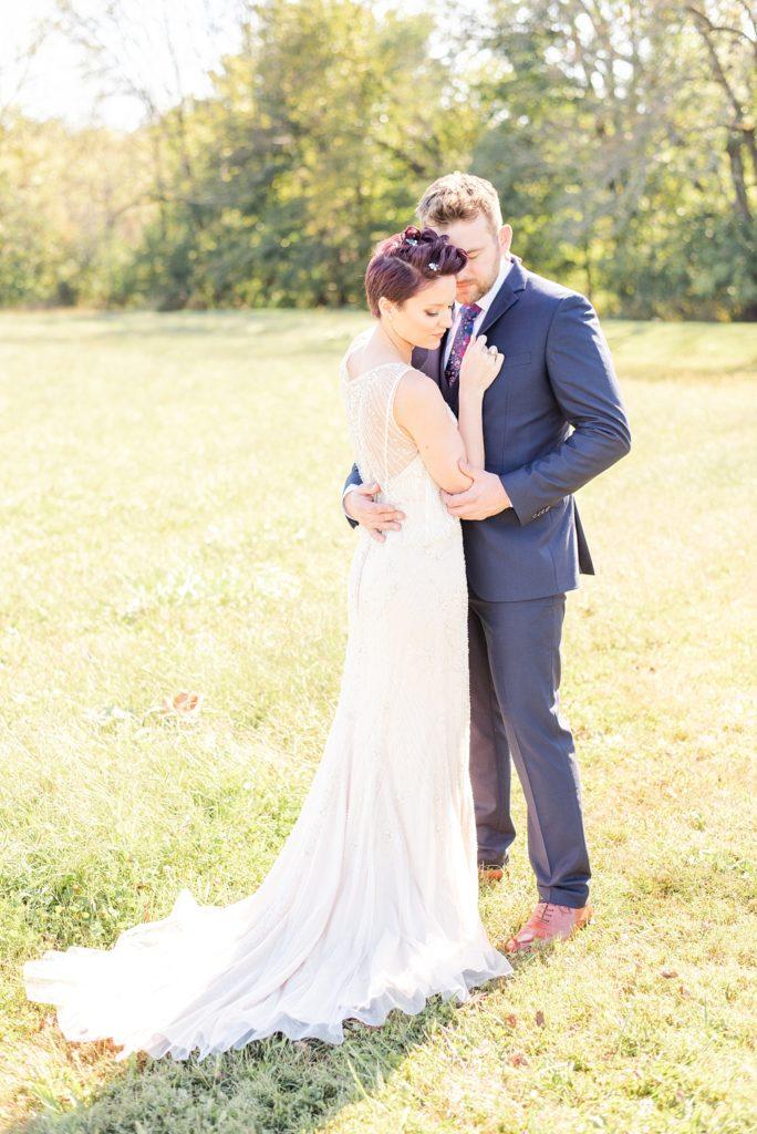 wedding portraits at Historic Stonebrook Farm with Renee Nicolo Photography