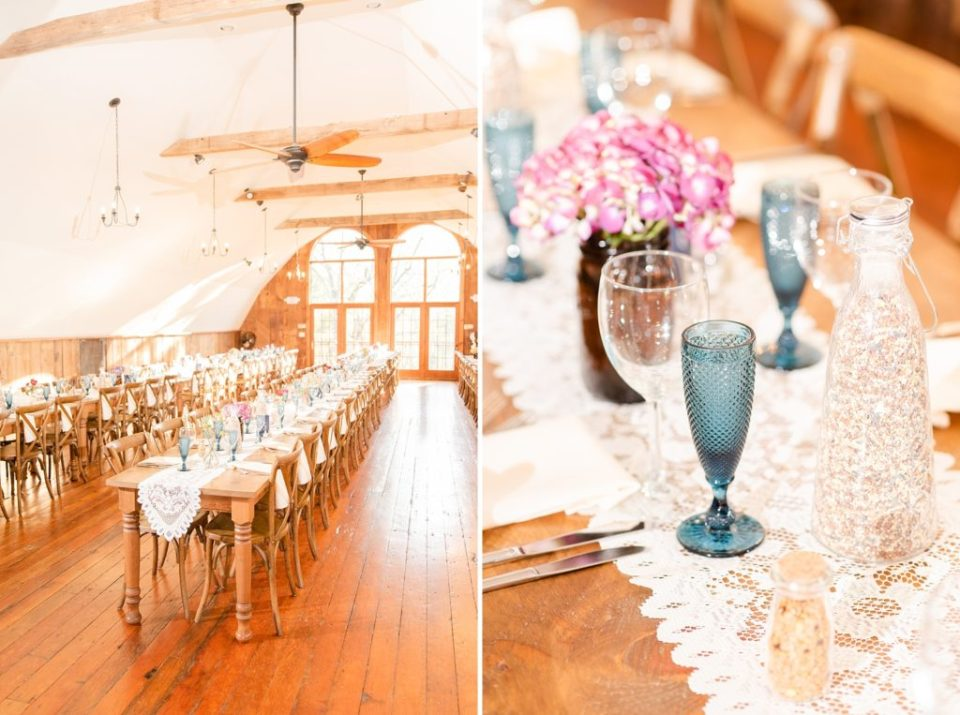 vintage details for Historic Stonebrook Farm wedding reception photographed by Renee Nicolo Photography