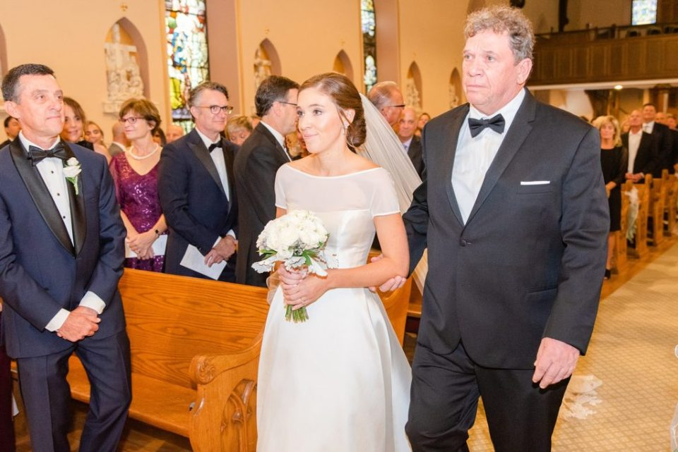 traditional Catholic wedding ceremony photographed by Renee Nicolo Photography