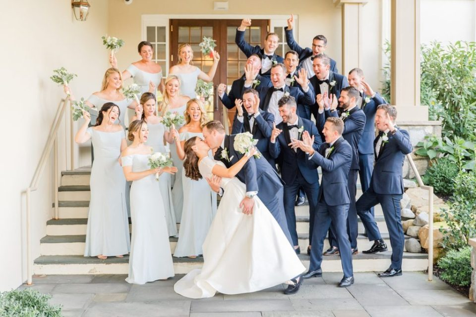 bridal party photographed by PA wedding photographer Renee Nicolo Photography