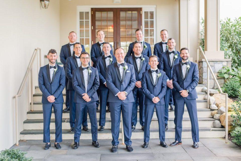 groomsmen photographed by Renee Nicolo Photography