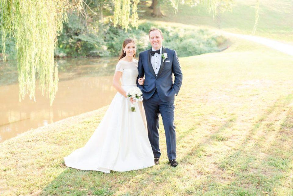 summer wedding portraits by PA wedding photographer Renee Nicolo Photography