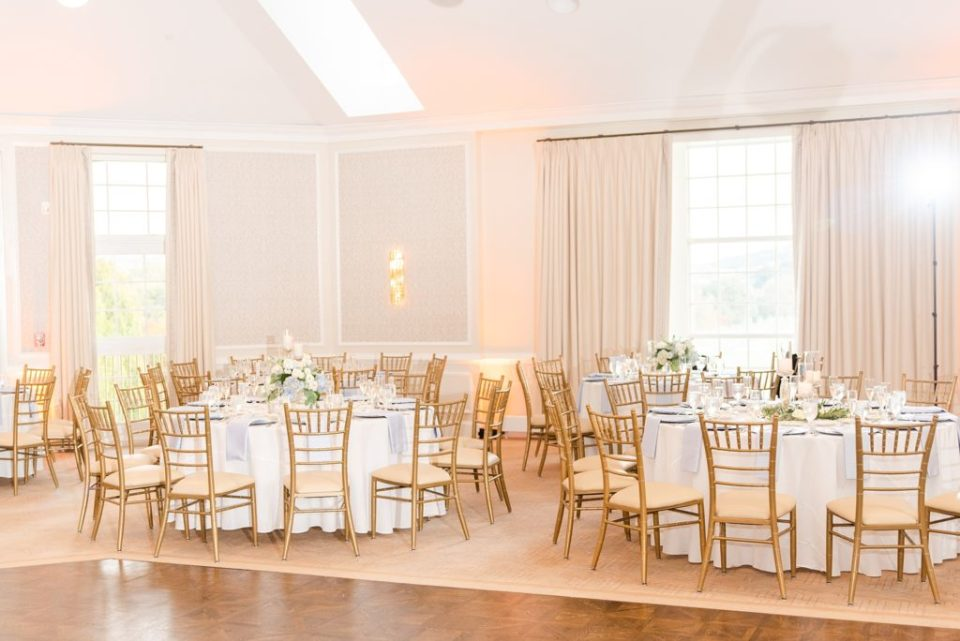 Lafayette Hill PA wedding reception photographed by Renee Nicolo Photography