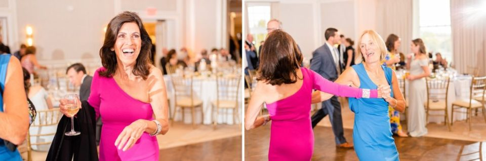 wedding dancing photographed by Renee Nicolo Photography at Whitemarsh Valley Country Club
