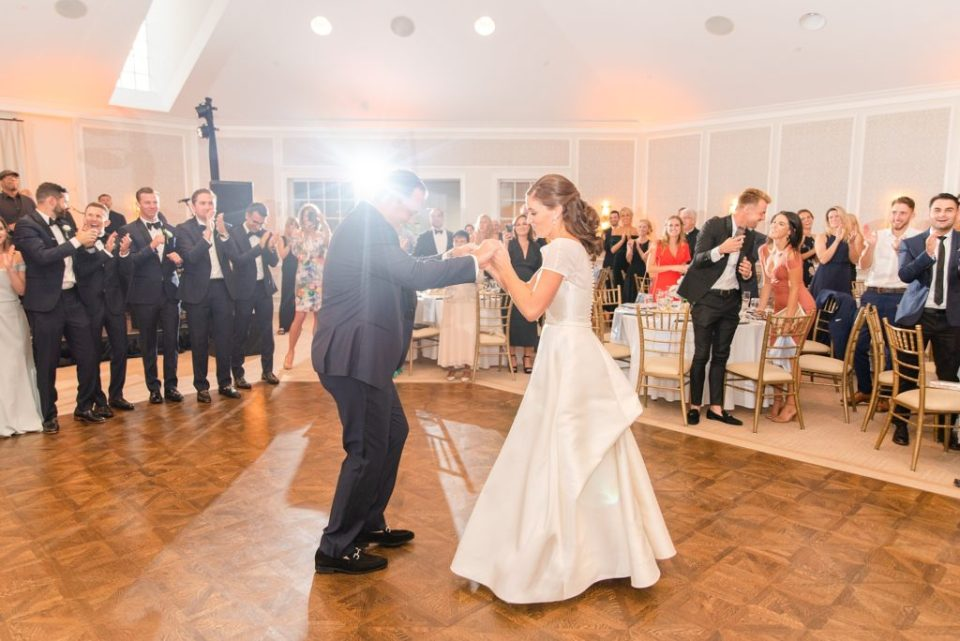 first dance photographed by Renee Nicolo Photography