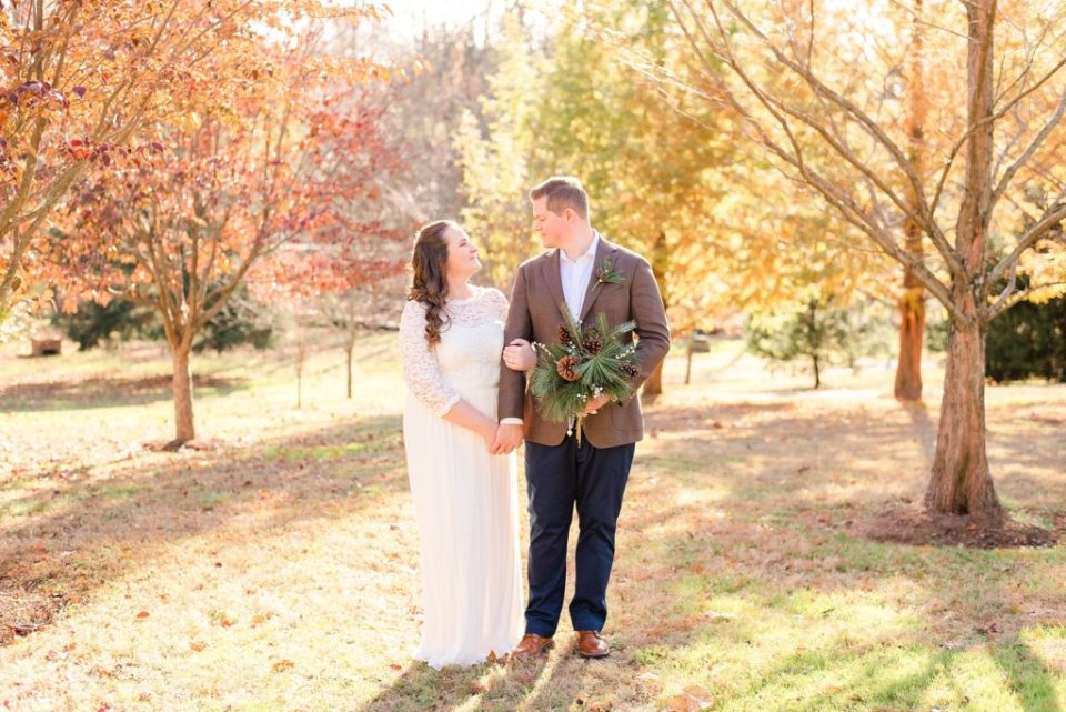 fall wedding day in Chesterbrook PA with Renee Nicolo Photography