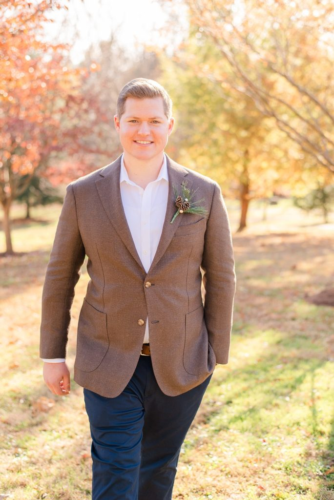 Duportail House groom portraits by Renee Nicolo Photography