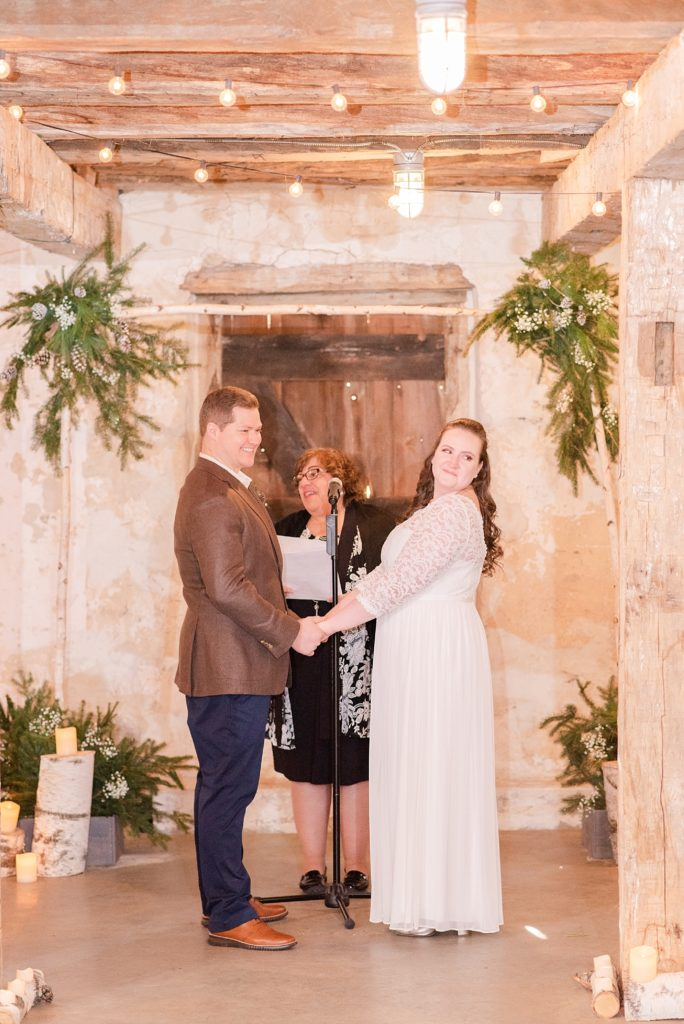 PA wedding ceremony photographed by Renee Nicolo Photography