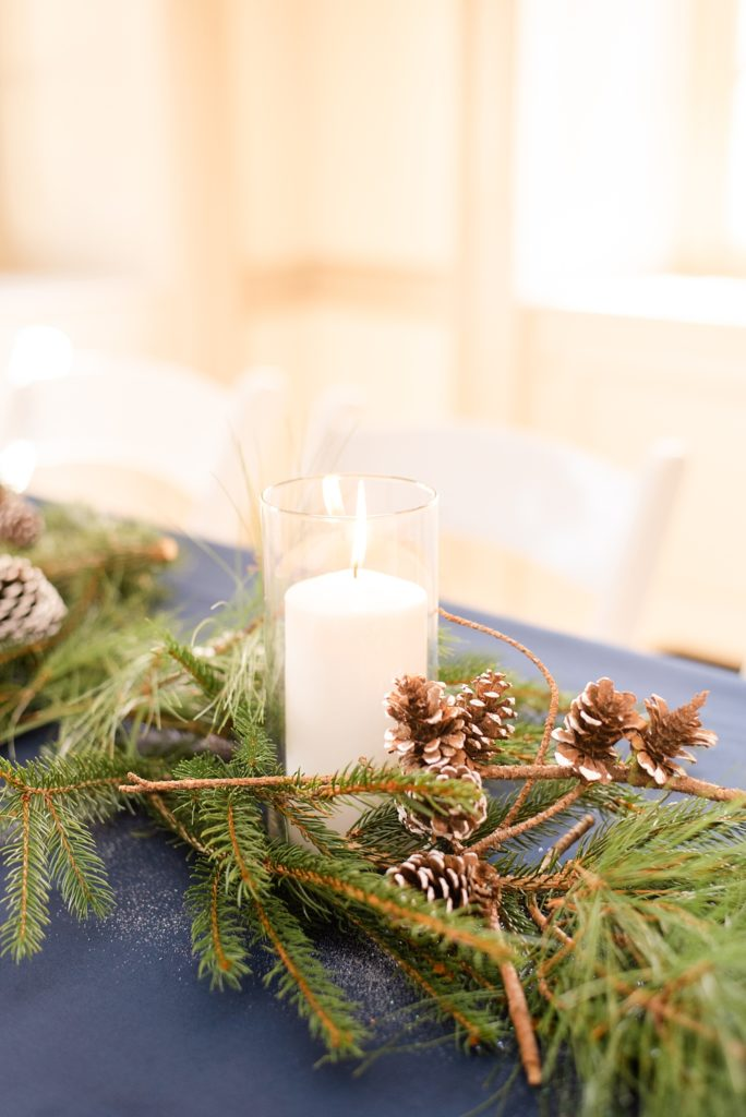 fall wedding centerpieces photographed by Renee Nicolo Photography