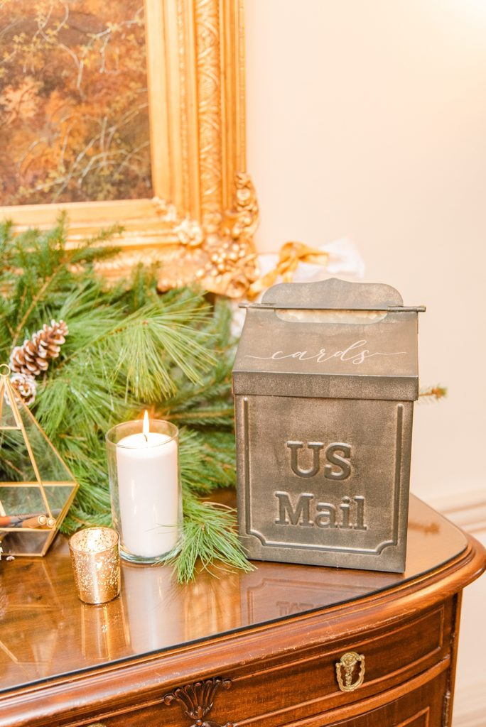 intimate wedding day reception details photographed by Renee Nicolo Photography