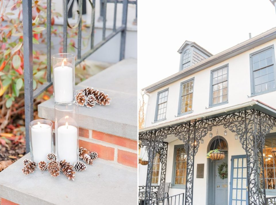 intimate fall wedding day photographed by Renee Nicolo Photography