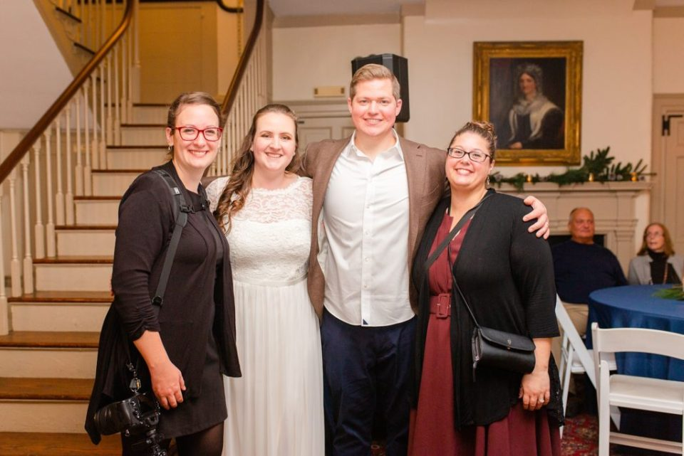 Renee Nicolo Photography photographs an intimate wedding at Duportail House