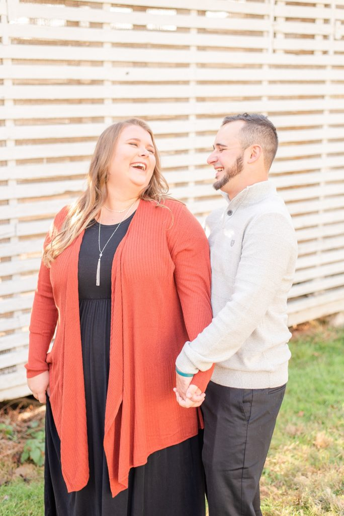 engagement session in PA with Renee Nicolo Photography