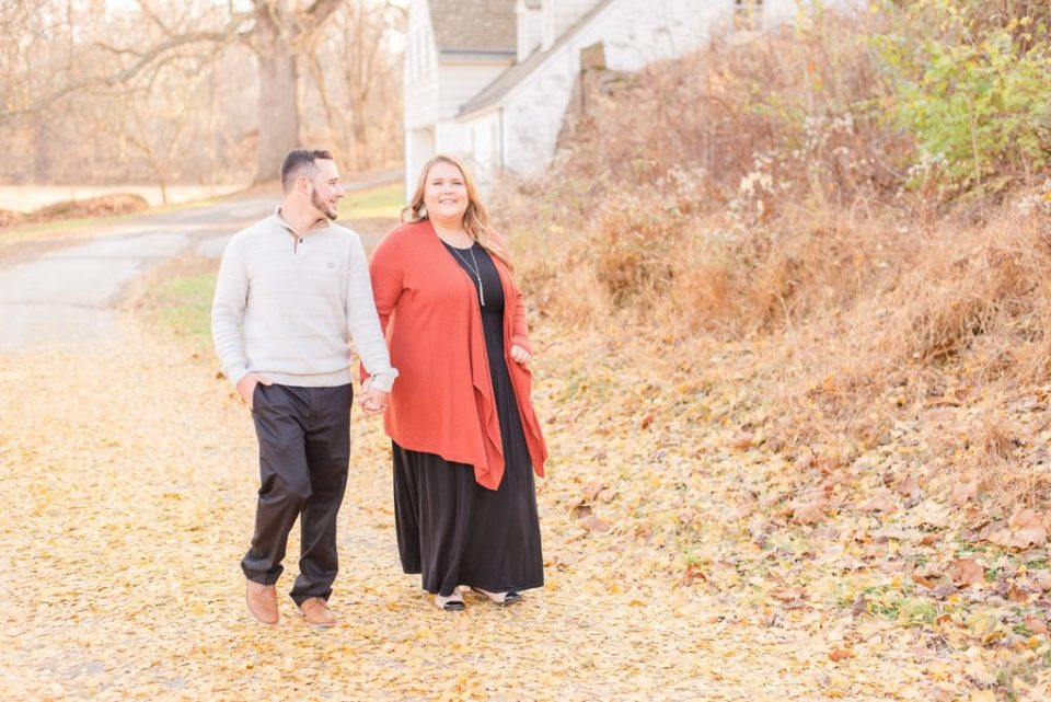 Renee Nicolo Photography photographs Valley Forge PA engagement photos