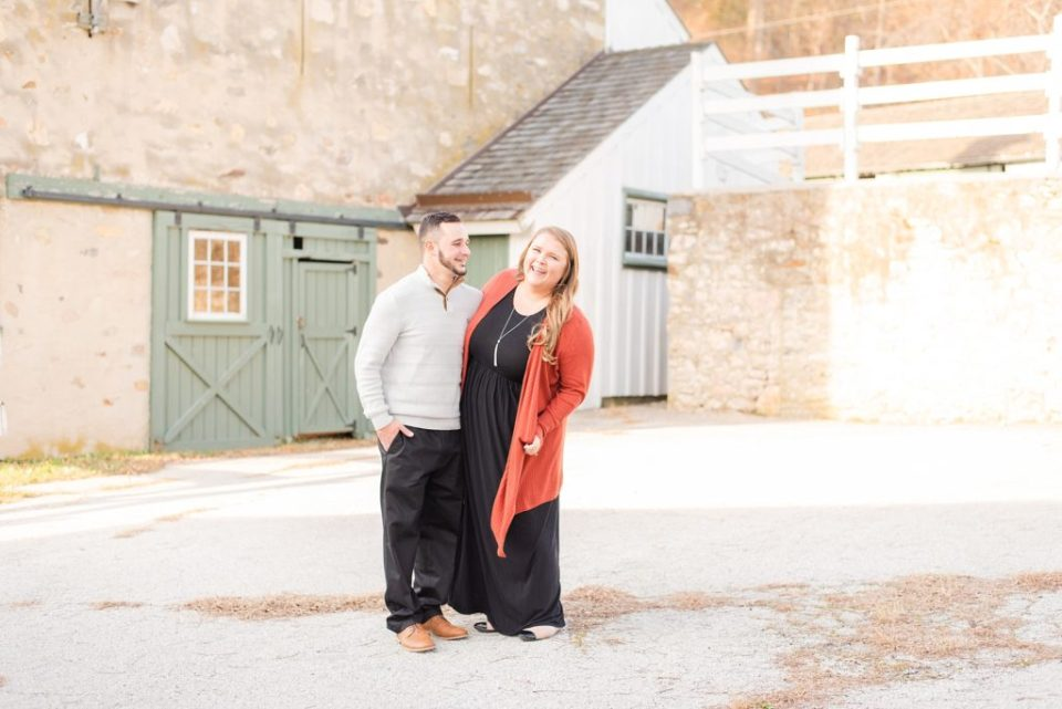 Renee Nicolo Photography photographs engaged couple in PA