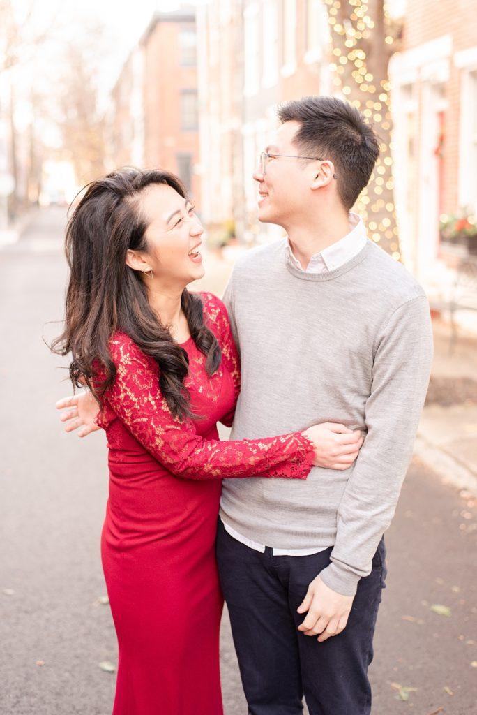 Philadelphia engagement portraits by Renee Nicolo Photography