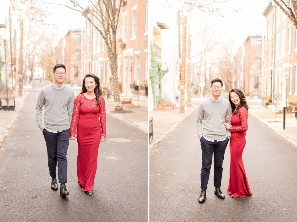 engagement session in the winter by Renee Nicolo Photography