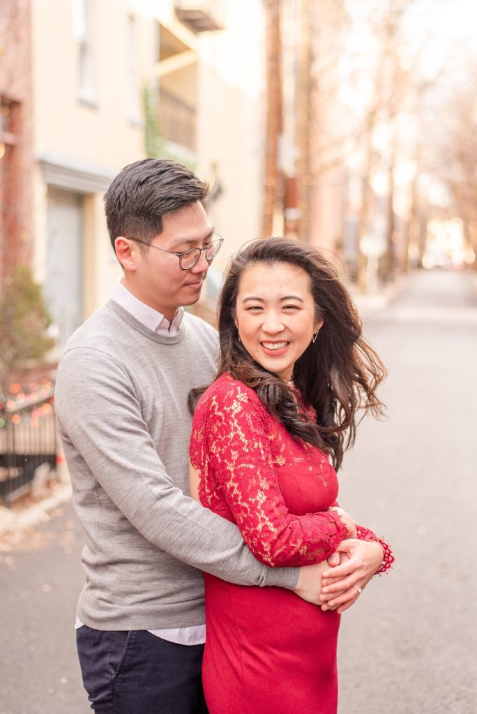 engagement portraits in January with Renee Nicolo Photography