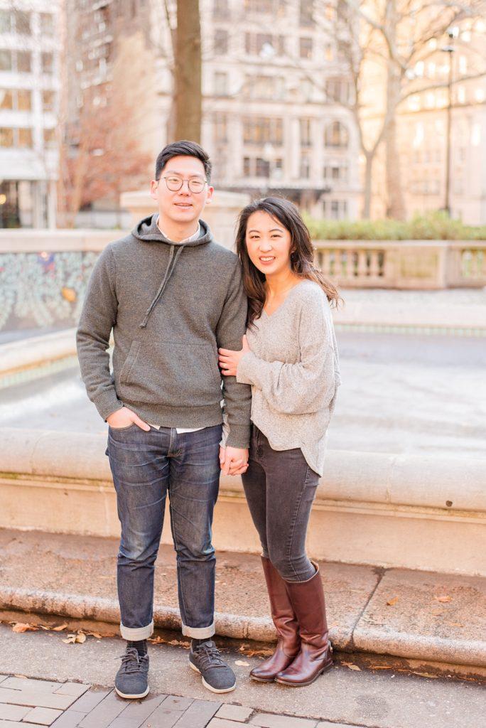 Philadelphia engagement session by Renee Nicolo Photography