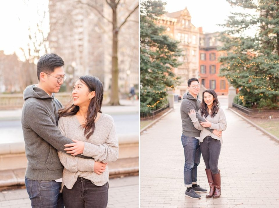 engagement session in Philly PA with Renee Nicolo Photography