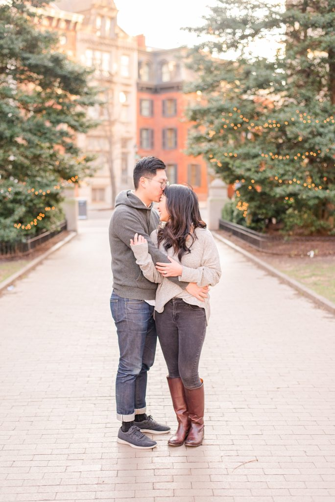 Winter engagement session in PA with Renee Nicolo Photography