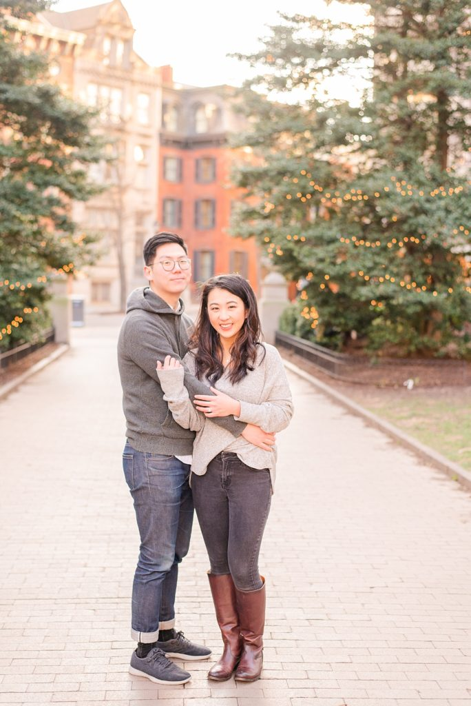 engagement photos in Philly PA with Renee Nicolo Photography