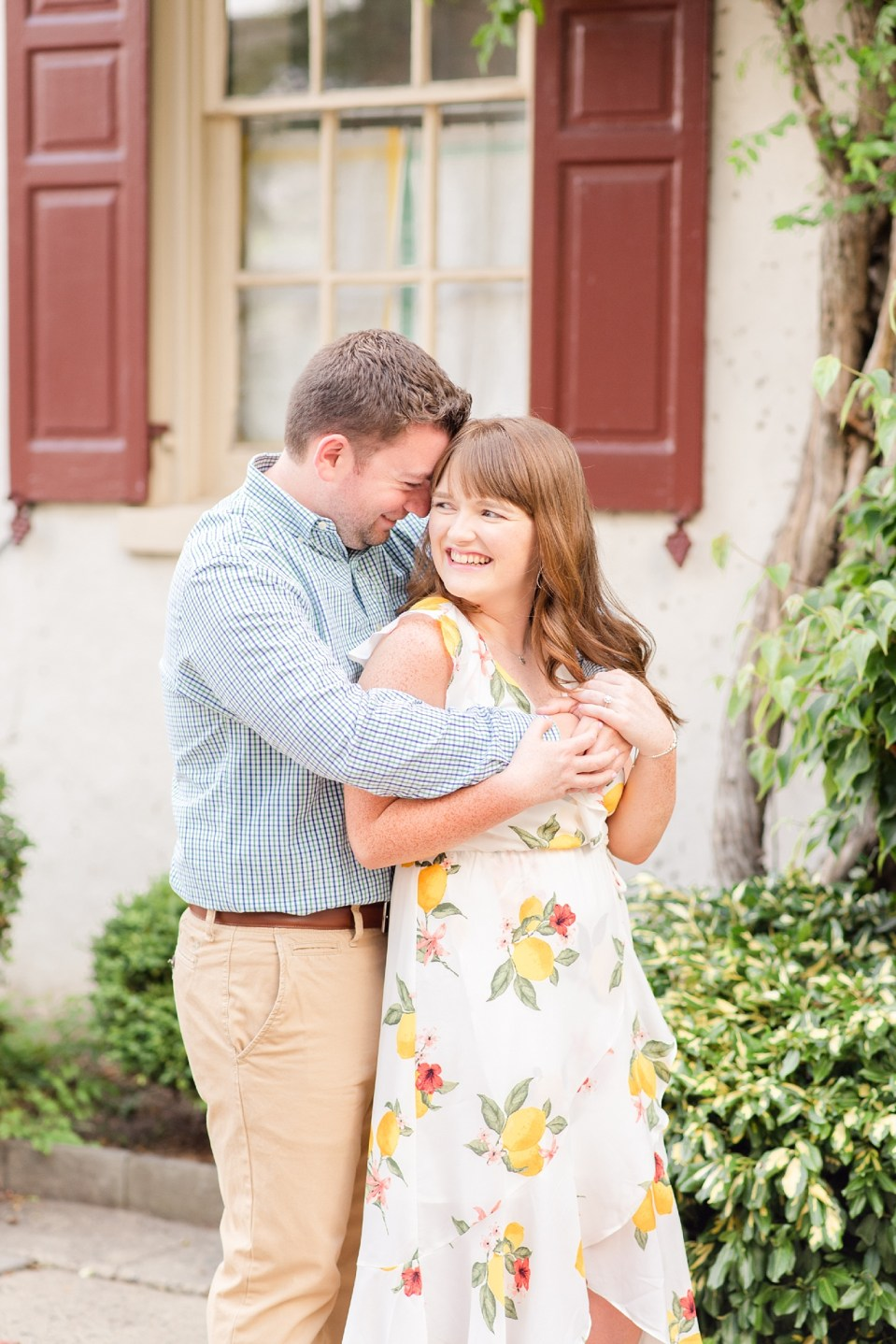 Renee Nicolo Photography photographs summer engagement portraits in PA