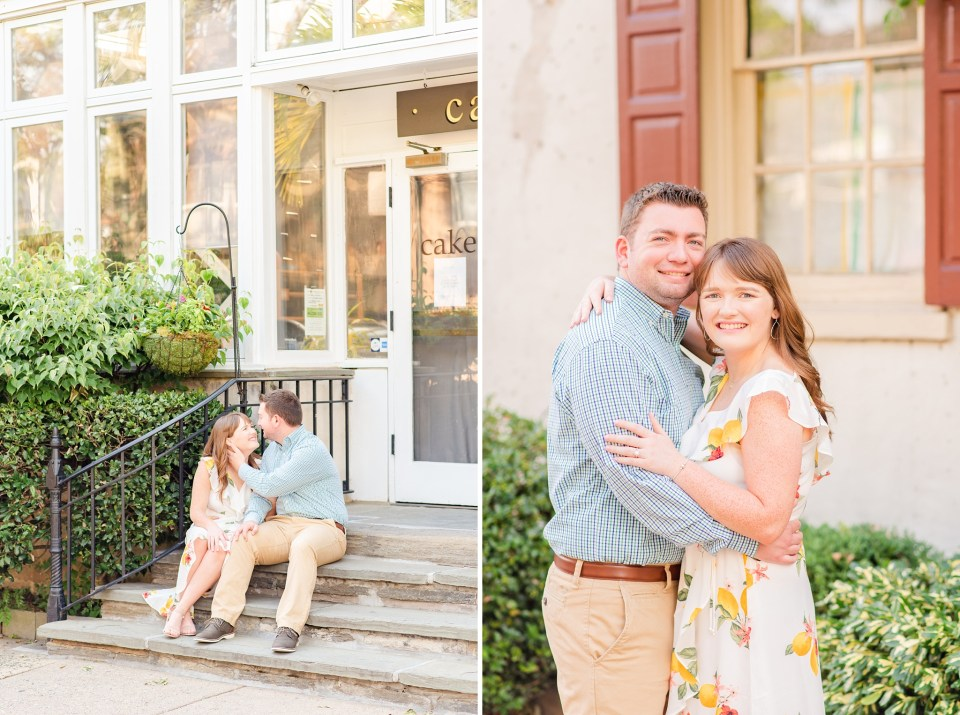 summer engagement portraits photographed by PA wedding photographer Renee Nicolo Photography