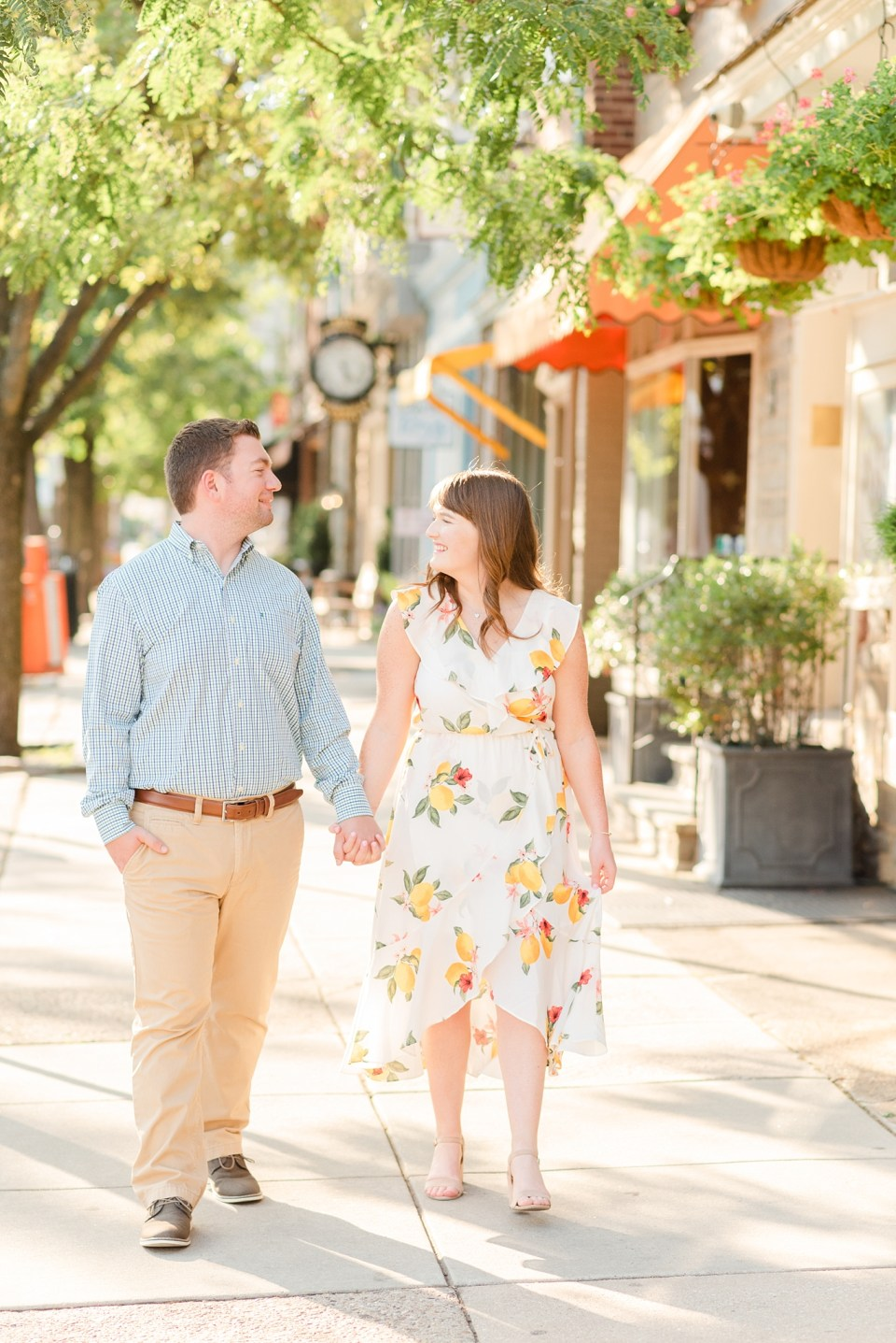 Chestnut Hill engagement photos by Renee Nicolo Photography