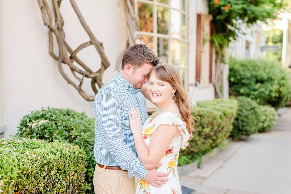 Chestnut Hill engagement session for PA couple photographed by Renee Nicolo Photography