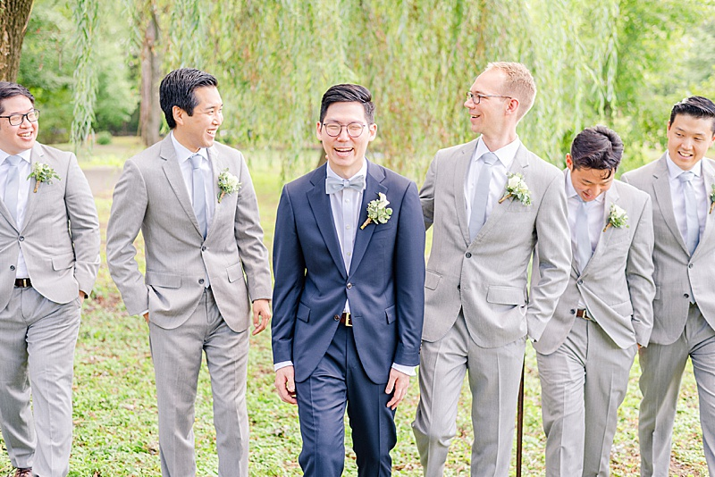 summer wedding inspiration for groom's attire from the Black Tux