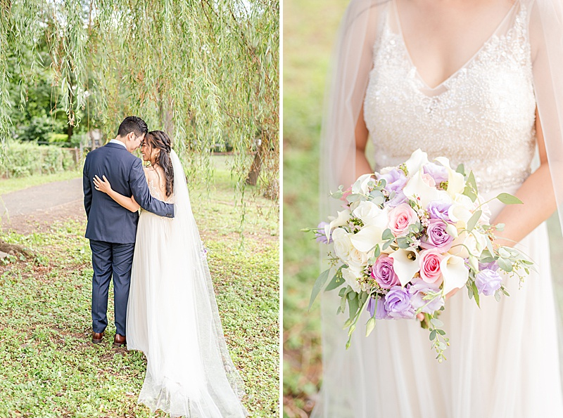 wedding portraits at Cooper Pond Park with Renee Nicolo Photography