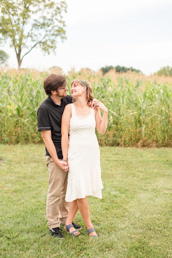 PA engagement session at Historic Stonebrook Farm
