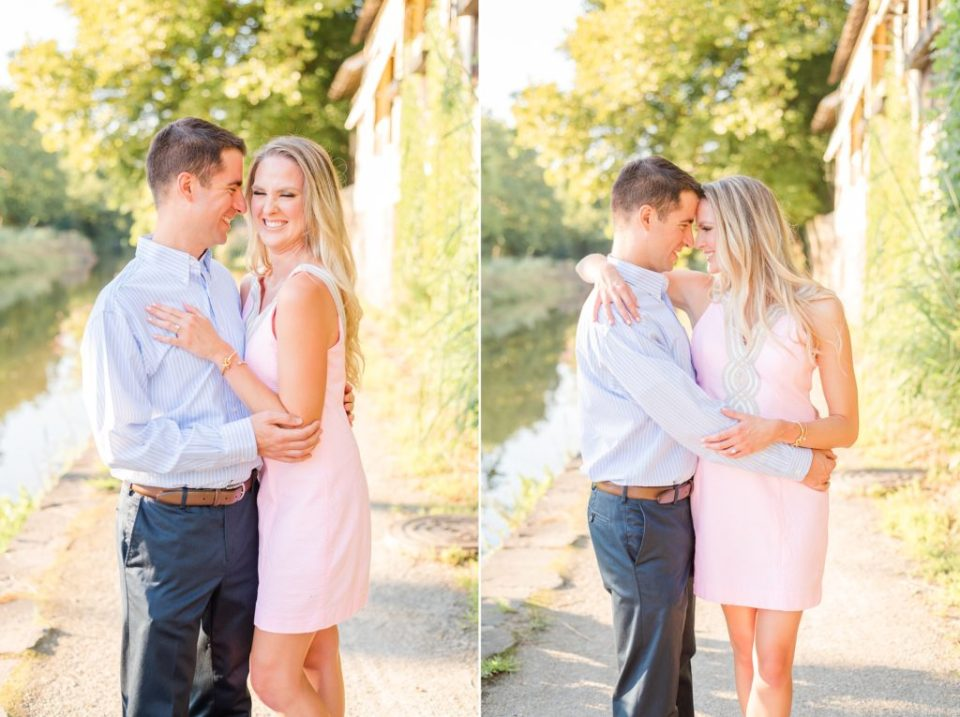 Pennsylvania engagement portraits in New Hope