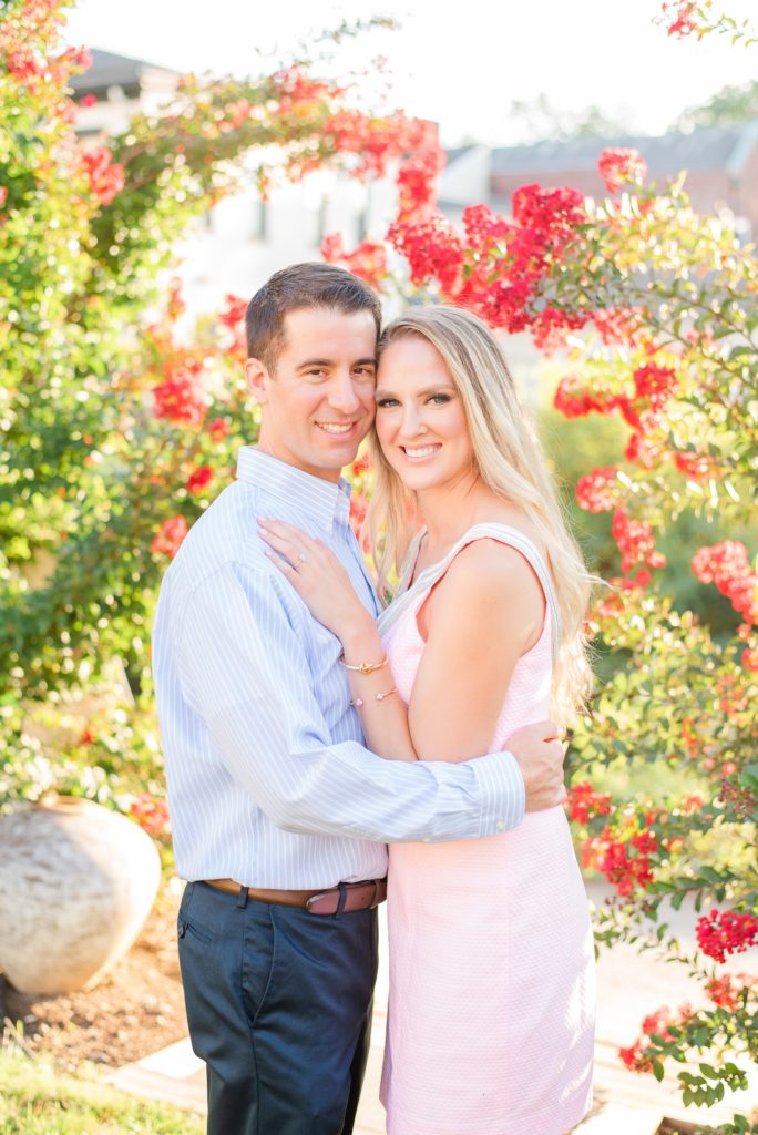 summer New Hope engagement photos with Renee Nicolo Photography