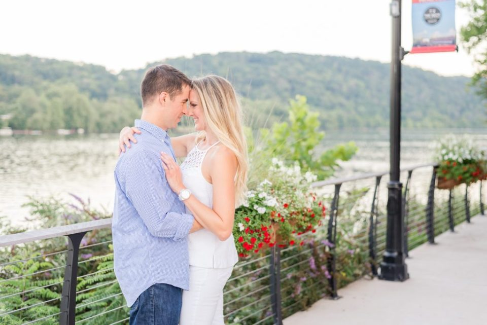 New Hope engagement portraits by Renee Nicolo Photography