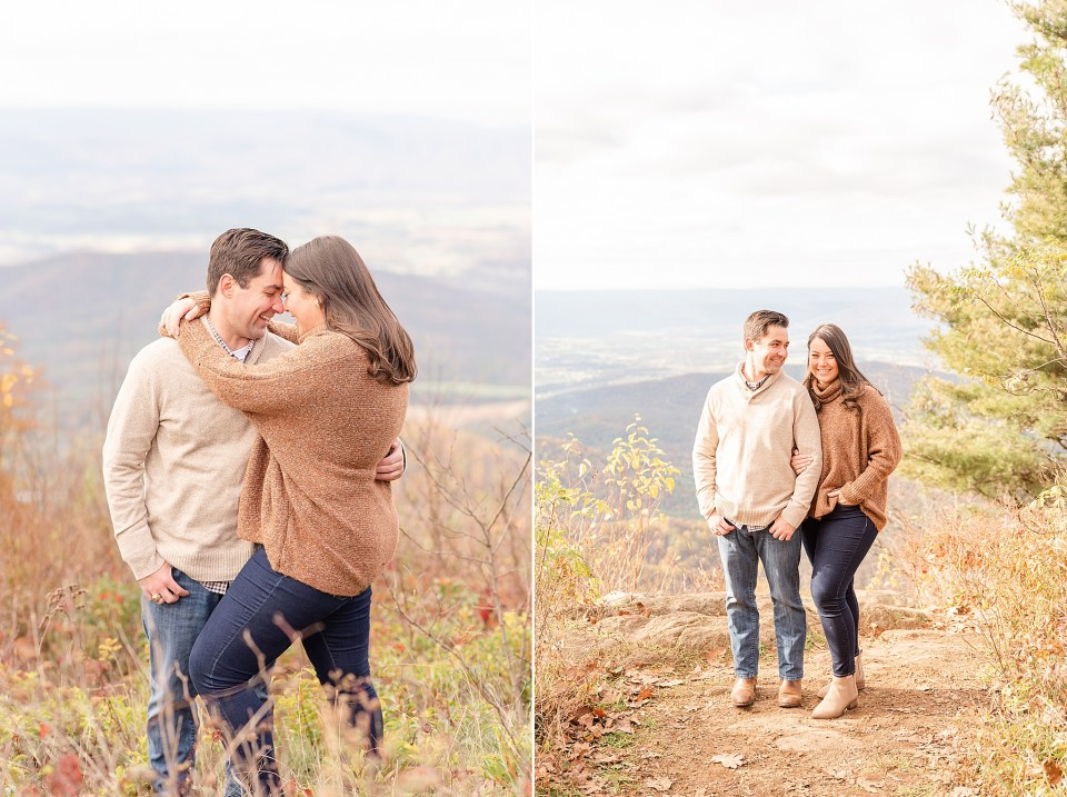 engagement photos in Winchester VA
