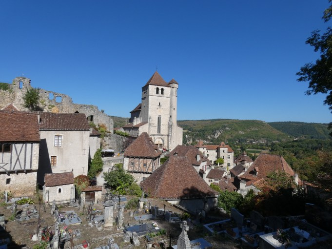 Graveyard Saint-Cirq-Lapopie