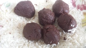 Brownie Bites balls