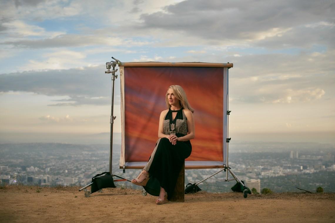 Cat Sherwin hair makeup artist Los Angeles   Michelle Sobrino for Ventura Magazine