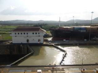 Miraflores Lock - at the Panamá Canal