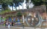 Painted San José wall