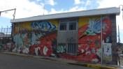 Colorful buildings in San José