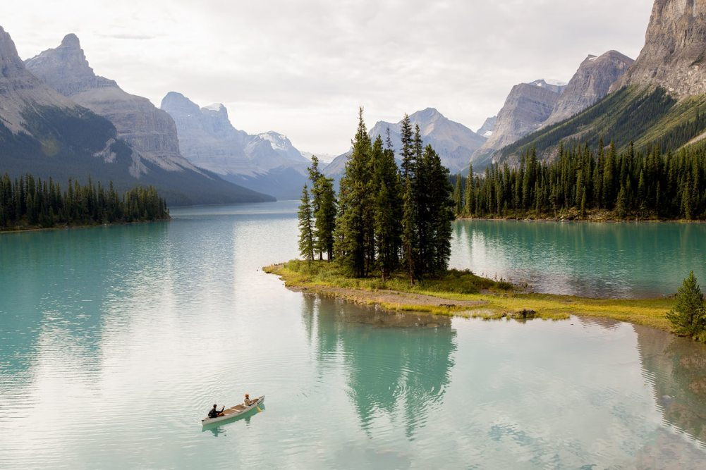 Spirit Island Canoe Canada - Renee Roaming