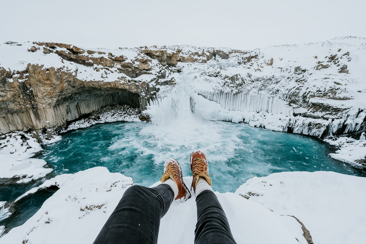 Iceland, Aldeyjarfoss - Renee Roaming